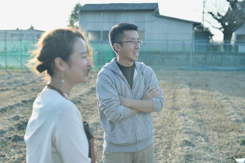 山本博幸さん。千葉県八街市でワイナリーをつくろうと今、動いている。