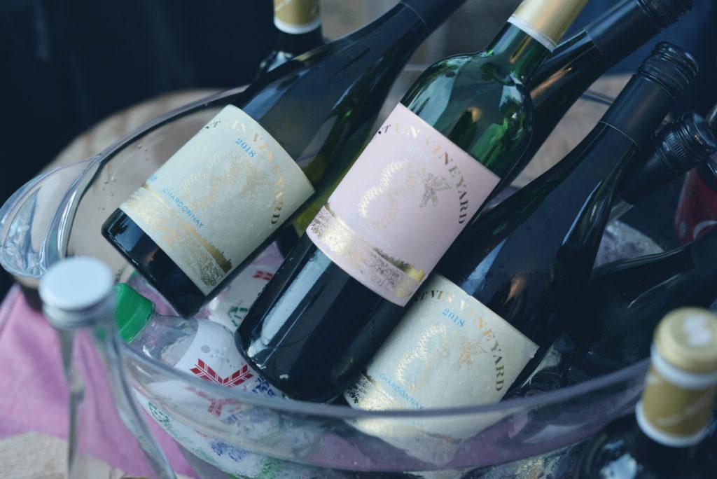山本さんのブドウでつくったワイン「vent vin vineyard」